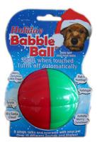 HOLIDAY BABBLE BALL (LARGE)