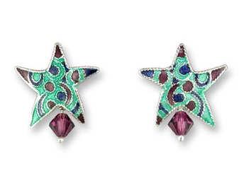 DESIGNER STAR EARRINGS