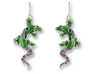CALYPSO GECKO EARRINGS