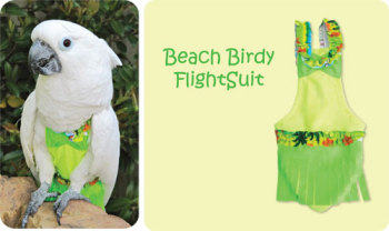 BEACH BIRDIE FLIGHTSUIT (LARGE)