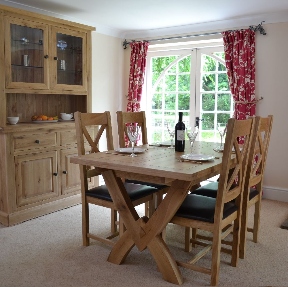 Hampton Abbey Oak Living and Dining