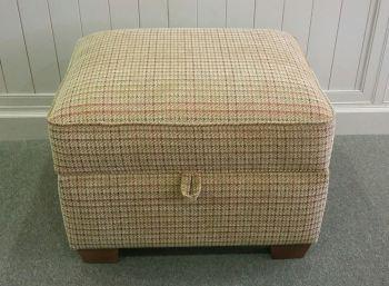 Shetland Storage Footstool