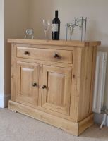 Hampton Abbey Oak Mini Sideboard