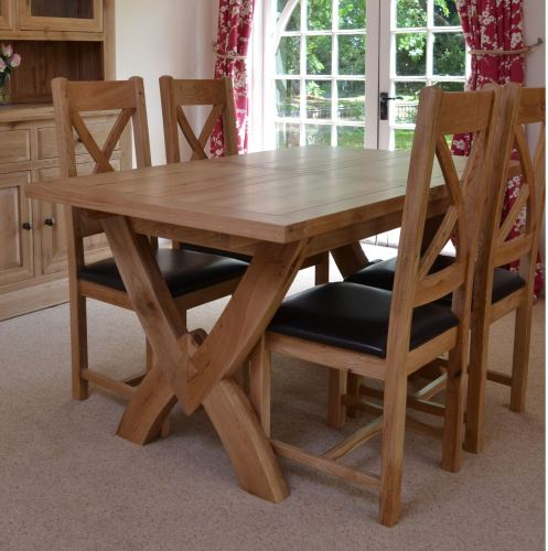 Hampton Abbey Small Oxbow Extending Table