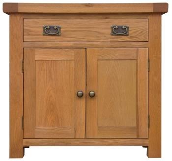 Heritage Oak Small 2 Door 1 Drawer Sideboard