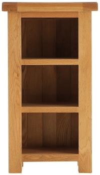 Heritage Oak Narrow Bookcase