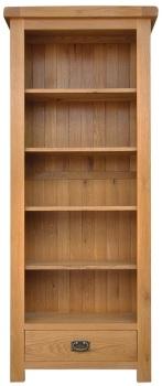 Heritage Oak Medium Bookcase