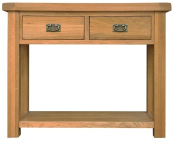 Heritage Oak Medium Console Table