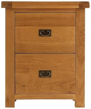 Heritage Oak Filing Cabinet