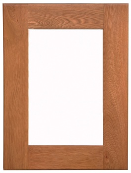 Heritage Oak Small Wall Mirror