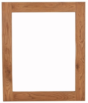 Heritage Oak Large Wall Mirror