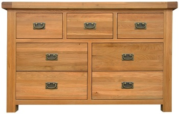 Heritage Oak 3 Over 4 Chest