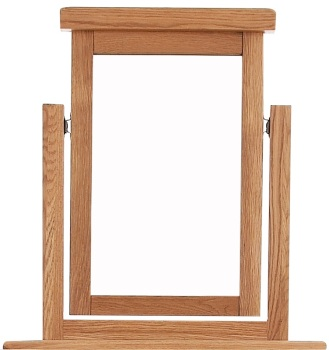 Heritage Oak Vanity Mirror