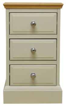 Dorchester 3 Drawer Bedside Chest