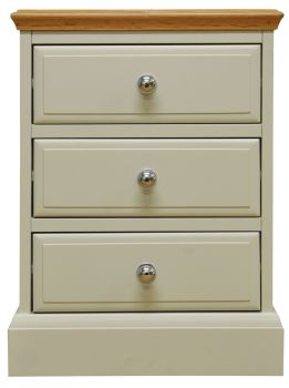 Dorchester Large 3 Drawer Bedside Chest