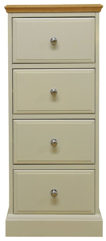 Dorchester 4 Drawer Narrow Chest