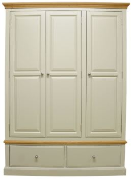 Dorchester 3 Door 2 Drawer Wardrobe