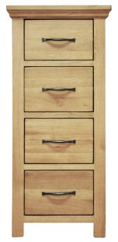 Wiltshire 4 Drawer Narrow Chest