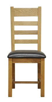Woodbridge Ladder Back Chair with PU Seat