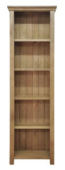 Wiltshire Large Narrow Bookcase