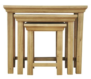 Wiltshire Nest of 3 Tables