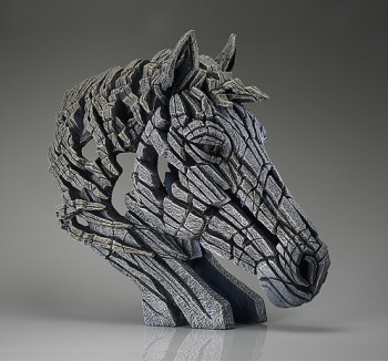 Horse Bust (White)