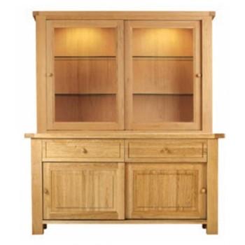 Balmoral Oak Double Sliding Door Dresser