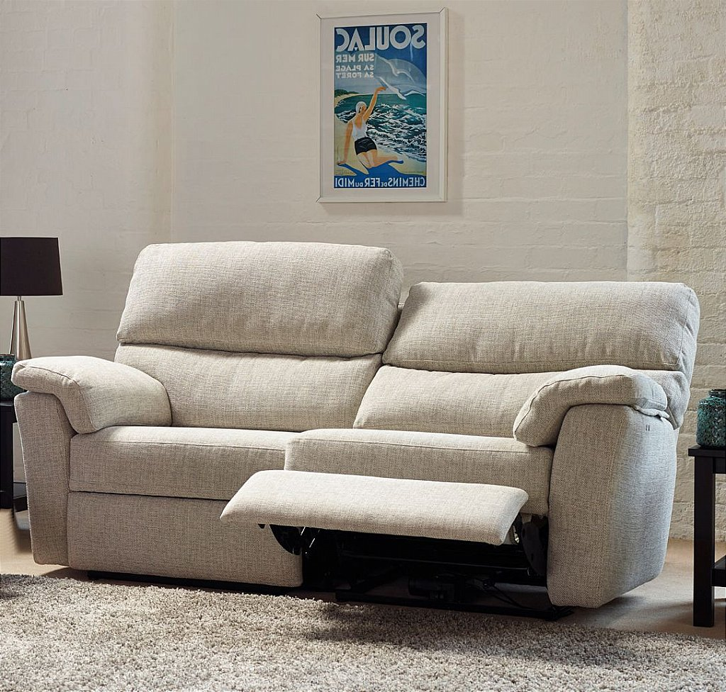 Henley 2 Seater Sofa with Manual Recliner