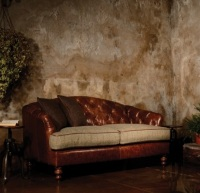 Harris Tweed Dalmore Petite Sofa B