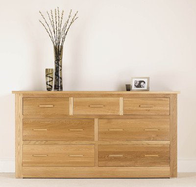 Quercus 4 + 3 Extra Wide Chest