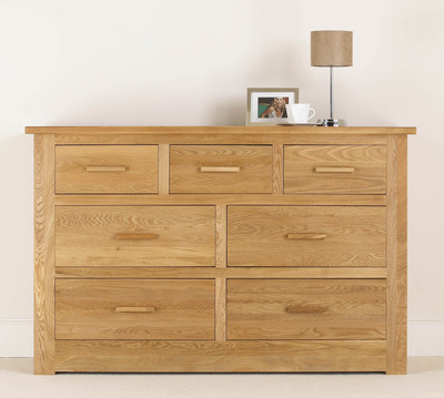 Quercus 4 + 3 Wide Chest