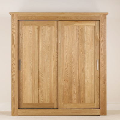 Quercus 1.8 Sliding Door All Hanging Wardrobe
