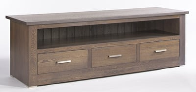 Quercus 1.8 3 Drawer TV Unit