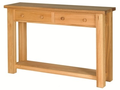 Quercus 1.2 Narrow Hall Table