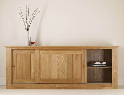 Quercus 2.4 Sliding Door Sideboard