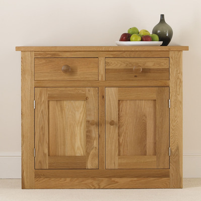 Quercus Small 2 Bay Dresser Base