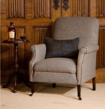 Harris Tweed Bowmore Chair A