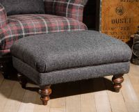 Harris Tweed Braemar Stool