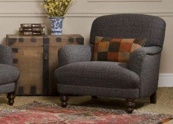 Harris Tweed Braemar Chair