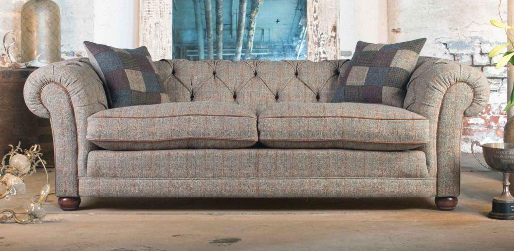 Harris Tweed Castlebay Grand Sofa