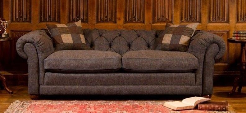 Harris Tweed Castlebay Midi Sofa