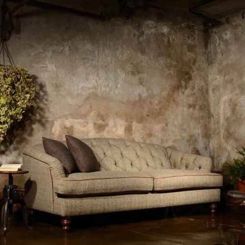 Harris Tweed Dalmore Midi Sofa A - Fabric