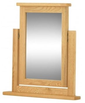 Purbeck Oak Dressing Table Swing Mirror