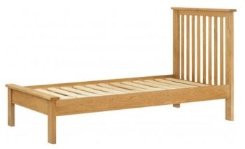 Purbeck Oak Bed - 3' Single