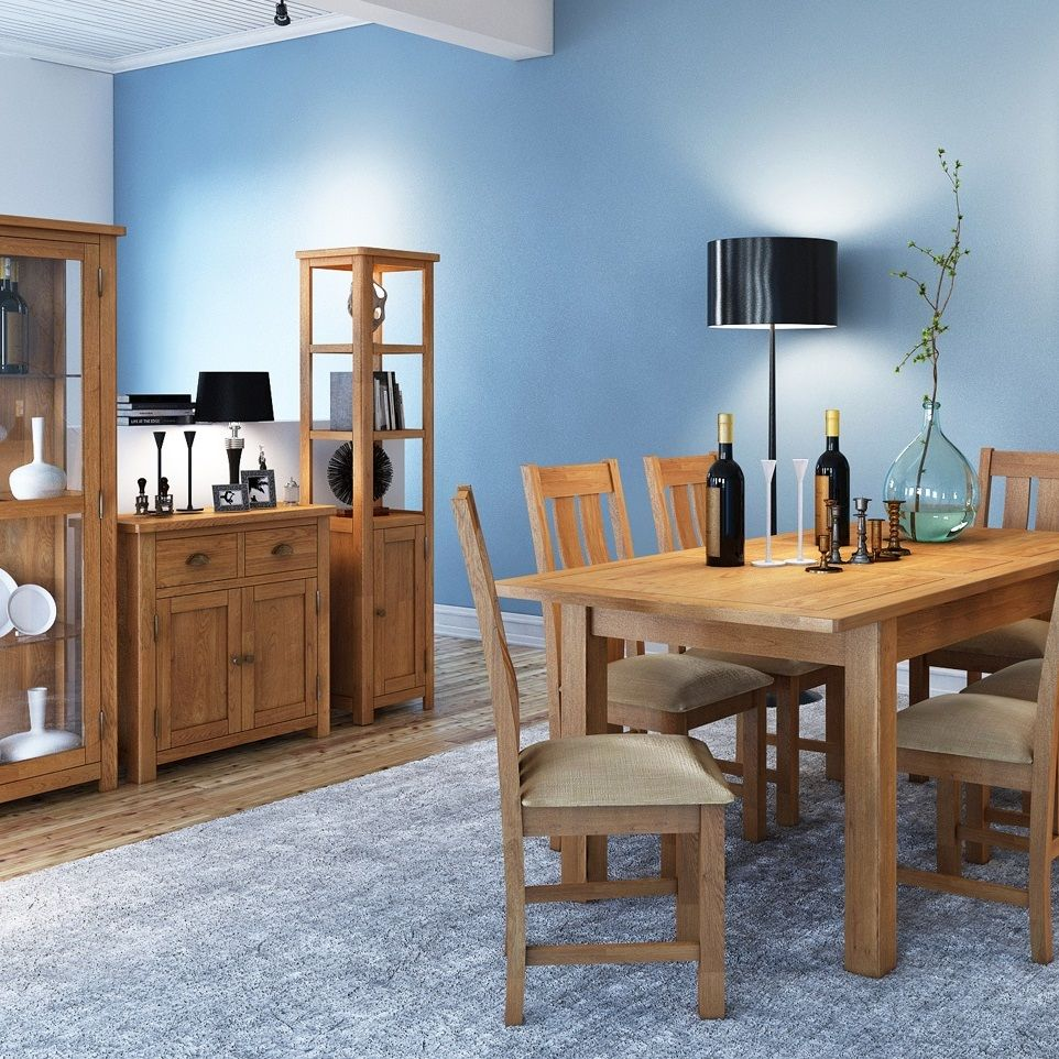 Purbeck Oak Dining, Living, Office & Kitchen