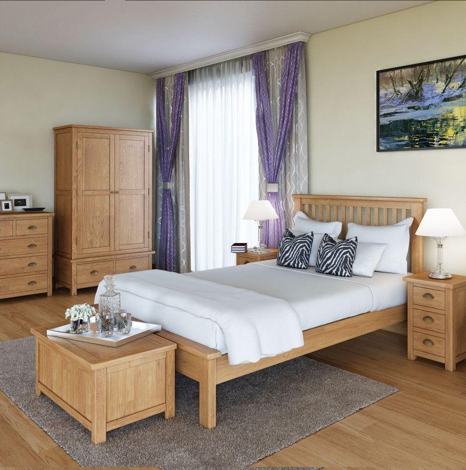 Purbeck Oak Bedroom