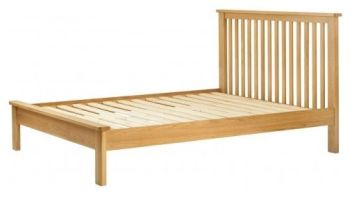 Purbeck Oak 5' Kingsize Bed