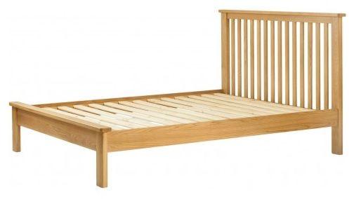 Purbeck Oak 5' Kingsize Bed