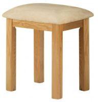 Purbeck Oak Dressing Table Stool