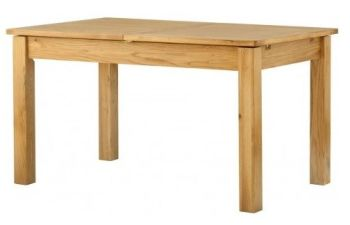 Purbeck Oak Dining Table - Extending